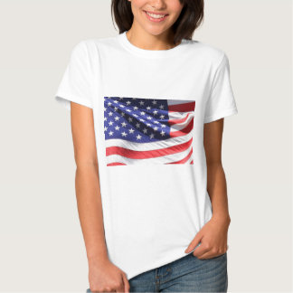 American-flag-Template T Shirt