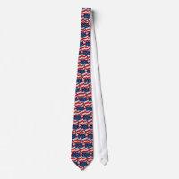 American Flag Tie tie