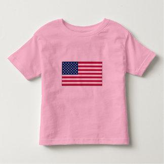 American FlagToddler Ringer T-Shirt