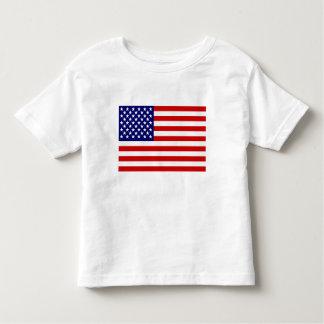 American flag toddler t-shirt