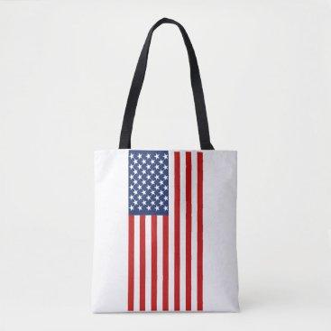USA Themed American Flag Tote Bag