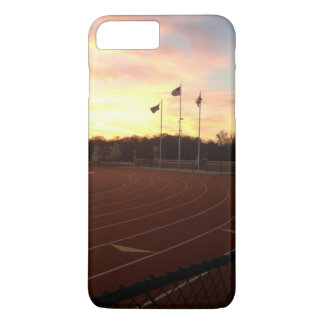 American Flag Track and Field iPhone case