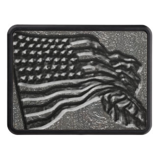 American Flag Trailer Hitch Cover
