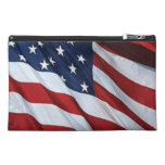American Flag Travel Accessory Bag