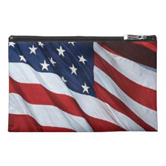 American Flag Travel Accessory Bag