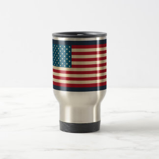 American Flag Travel Coffee Mug Gift