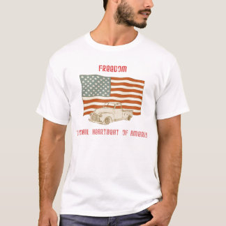 American Flag Truck Tee