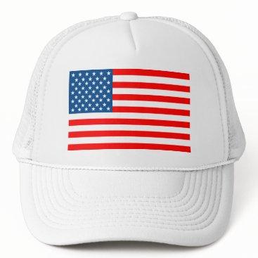 USA Themed American Flag Trucker Hat