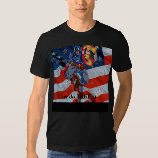american_flag, try do TAKE it T-shirts
