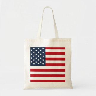 American Flag U.S.A. Tote Canvas Bags
