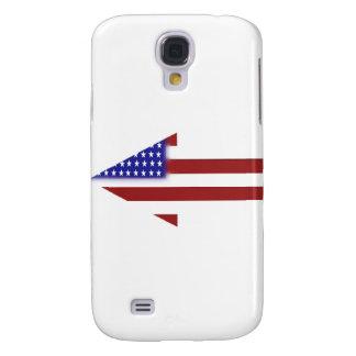 American Flag - Unique Shapes Galaxy S4 Case