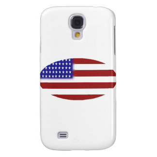American Flag - Unique Shapes Galaxy S4 Cases