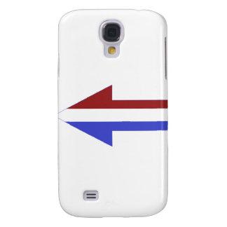 American Flag - unique shapes Samsung Galaxy S4 Case