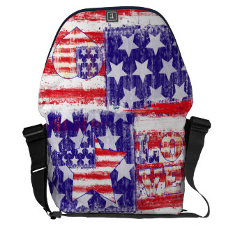 american flag,united states flag courier bags