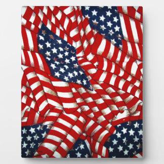 American Flag-Unity & Love_ Plaque
