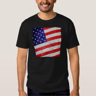 American Flag Urban Art T-shirt
