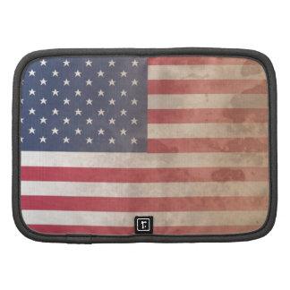 American Flag, US grunge patriotism (USA) Planners