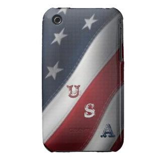 American Flag USA Graffiti iPhone 3G/3GS Case Case-Mate iPhone 3 Case