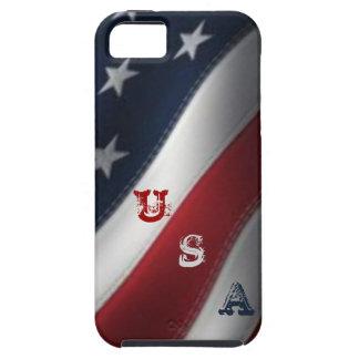 American Flag USA Graffiti iPhone 5/5S Case