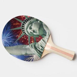 american flag usa ping pong paddle