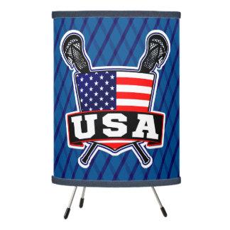 American Flag USA Lacrosse Lamp