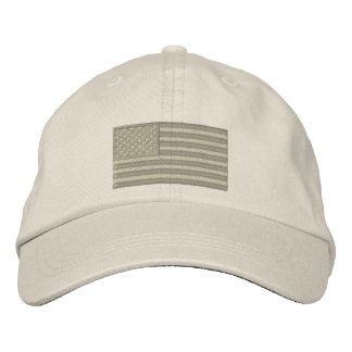 American Flag USA Large Embroidery Cap