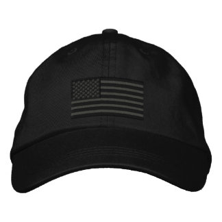 American Flag USA Large Embroidery Embroidered Baseball Hat