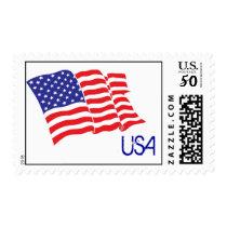 American-Flag/USA Postage