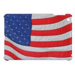 American Flag - USA Stars and Stripes iPad Mini Cases
