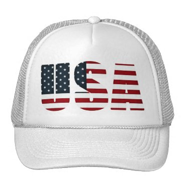 USA Themed american flag - usa trucker hat