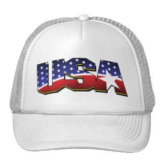 american flag - usa trucker hat
