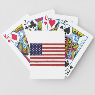 American Flag, USA/US Bicycle Playing Cards