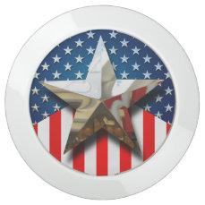 American Flag USB Charging Station