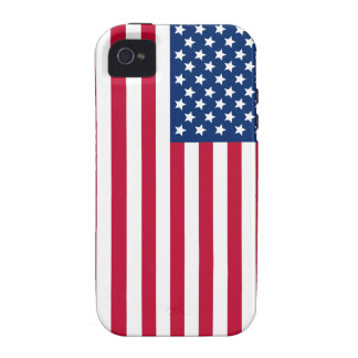 American Flag Vibe iPhone 4 Cases
