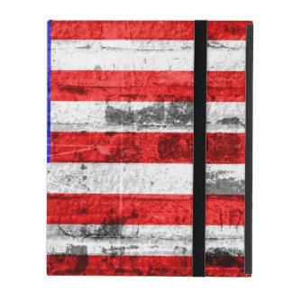 American Flag Vintage 10 iPad Folio Cases
