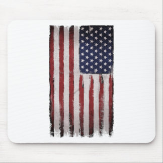 American flag Vintage Patriot Mouse Pad