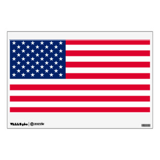 American Flag Wall Decal, Choose Size Wall Sticker