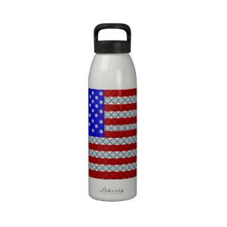 American Flag Water Bottles