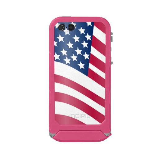 american flag iphone 5s case american flag waterproof for iphone se 5 5s zazzle 16569