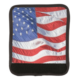 American Flag Waving Wind Patriotic USA Handle Wrap