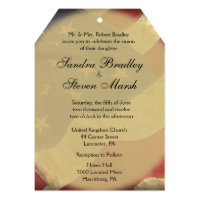 American Flag Wedding 5x7 Paper Invitation Card