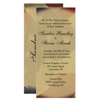 American Flag Wedding Invitation