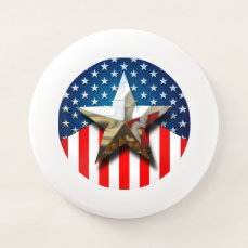 American Flag Wham-O Frisbee