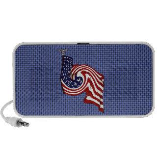 American Flag Whirlwind Flow Doodle Speaker