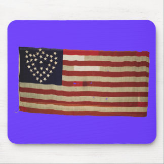 American Flag with 36 Stars Mouse Pads
