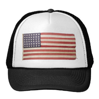 American Flag with 42 Stars Trucker Hat