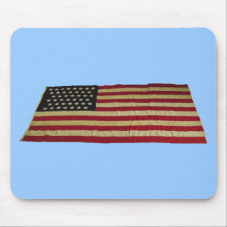 American Flag with 43 Stars Mouse Pad