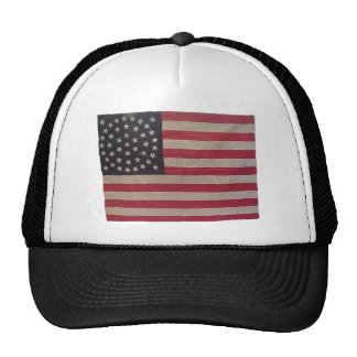 American Flag with 44 Stars Trucker Hat
