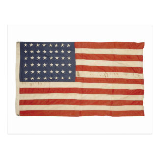 American Flag with 48 Stars Postcard