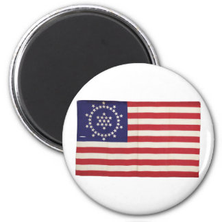 American Flag with 48 Stars Whipple Refrigerator Magnets